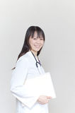 Asian woman doctor Royalty Free Stock Photo