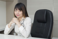 Asian woman doctor Stock Images