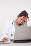 Asian woman doctor physician Stock Photos