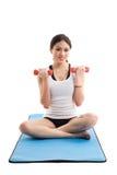Asian woman exercise Royalty Free Stock Photos