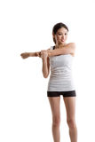 Asian woman exercise Stock Photo