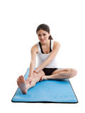 Asian woman exercise Stock Images