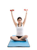 Asian woman exercise Stock Photography
