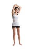 Asian woman exercising Royalty Free Stock Photo