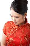 Asian woman face Stock Photography