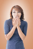 Asian woman face Stock Photo