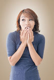Asian woman face Stock Photos