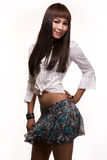 Asian woman fashion Stock Image