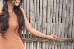Asian woman feeling sadness Royalty Free Stock Image