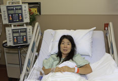 Asian Woman in Hospital Royalty Free Stock Photo