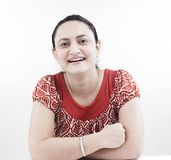 Asian woman of indian origin Stock Image