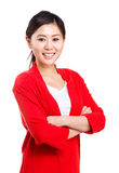 Asian woman isolated Royalty Free Stock Photography