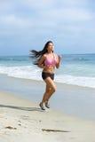 Asian Woman Jogging Stock Photography