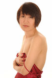 Asian woman in lingerie Royalty Free Stock Photo
