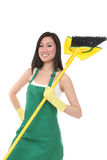 Asian Woman Maid royalty free stock images