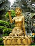 Asian woman mythological statue Stock Photo