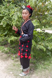 Asian woman in national costume, Laos Stock Photography