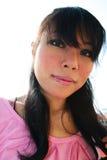 Asian woman outdoors. Stock Image