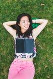 Asian Woman at Park Royalty Free Stock Image