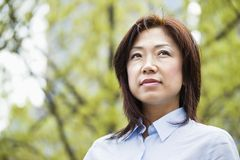 Asian woman portrait Stock Photography