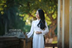 Asian woman portrait Stock Photography