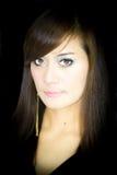 Asian Woman Portrait. Face closeup Royalty Free Stock Images