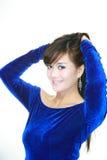 Asian Woman Portrait. Face closeup Royalty Free Stock Photos