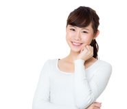 Asian woman portrait Royalty Free Stock Images