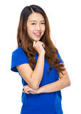 Asian woman portrait Royalty Free Stock Photography