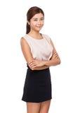 Asian woman portrait stock image