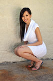 Asian Woman Posing Royalty Free Stock Image