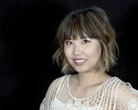 Asian Woman with Professional Hair and Makeup Studio S Stock Photography