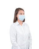 Asian woman with protective masks Stock Photo