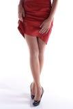Asian woman's legs Stock Photos