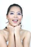 Asian woman (series) stock image