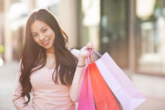 Free Asian Woman Shopping Royalty Free Stock Images - 19064389