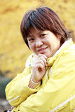 Asian woman with smile Royalty Free Stock Photos