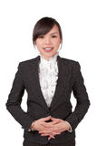 Asian woman smile face Royalty Free Stock Photo