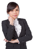 Asian woman smile face Stock Photography