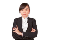 Asian woman smile face Royalty Free Stock Image