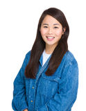 Asian woman smile Stock Photography
