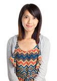 Asian woman with smile Stock Photography