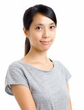 Asian woman with smile Royalty Free Stock Images