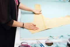 Asian woman tailor fashion clothes dress designer Royalty Free Stock Photos