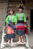 Asian woman Thai Dam, Laos Stock Photo