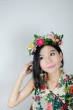 Asian woman traveler Stock Photos