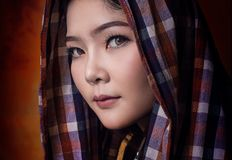 Asian country woman Stock Photography