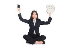 Asian woman work life Stock Images