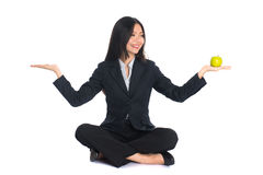 Asian woman work life Stock Image