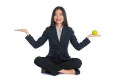 Asian woman work life Stock Photography